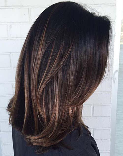 Vibrant Hues for Chocolate Brown Hair