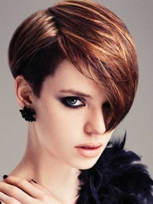 bold asymmetrical pixie cuts