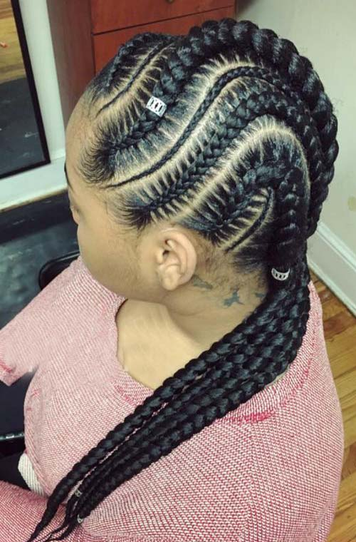 Cool Black Braided Hairstyles