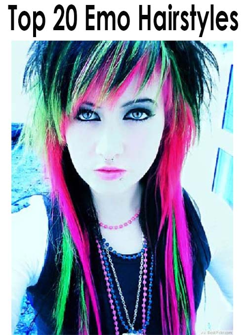 20 Cute Outfits For Black Teen Girls: 20 Cute Emo Hairstyles For Girls