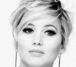 gorgeous looks with pixie cut for round face.