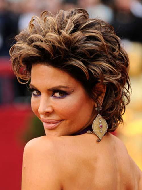 sassy Lisa Rinna Hairstyles