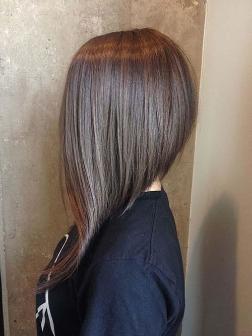 Cool asymmetric haircuts