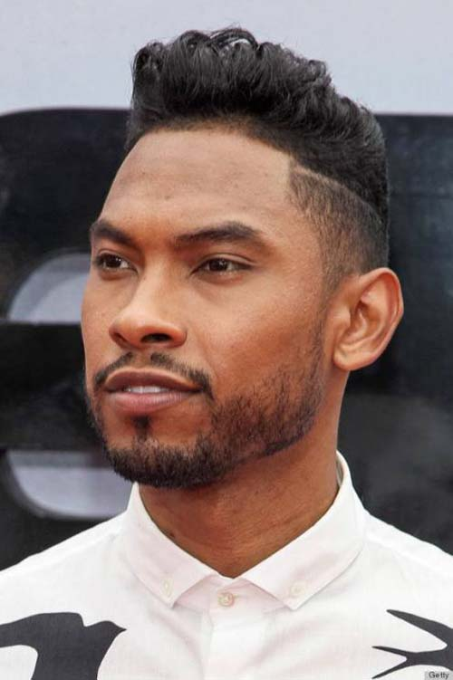 handsome haircuts for black men