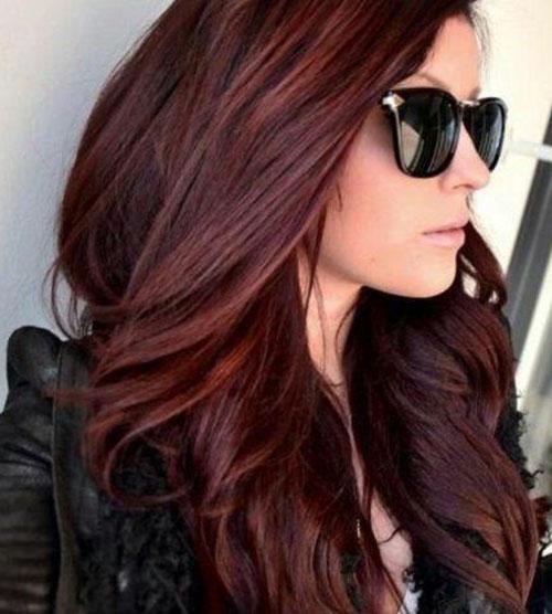 20 Mahogany Haircolor For Sexy Looks