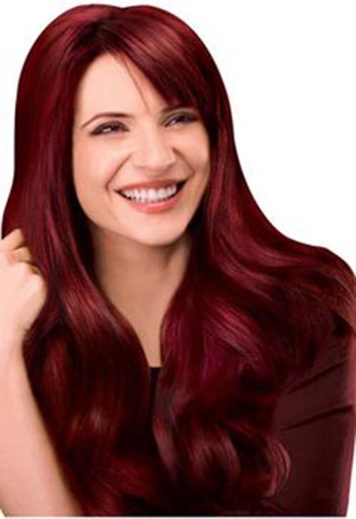 mahogany haircolor for sexy looks