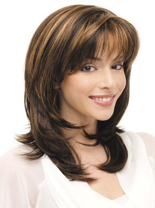 20 Medium Length Haircut for Thick Hair
