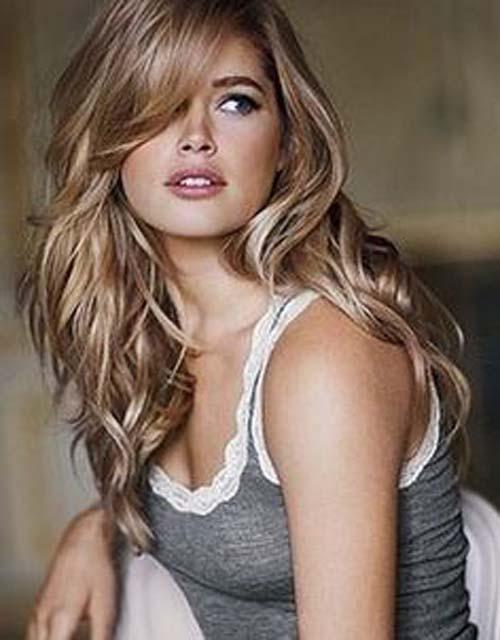 Splashy Blonde Hairstyles