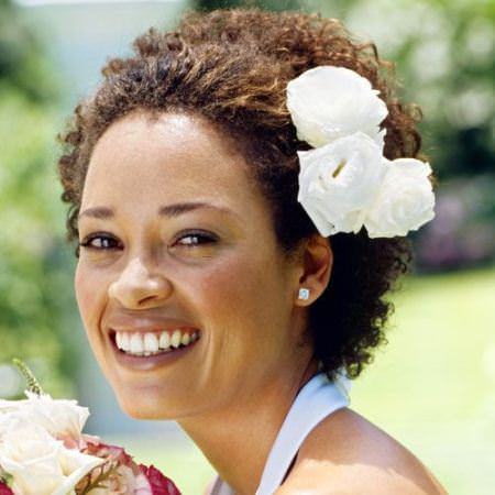afro-puff-black-wedding-hairstyles