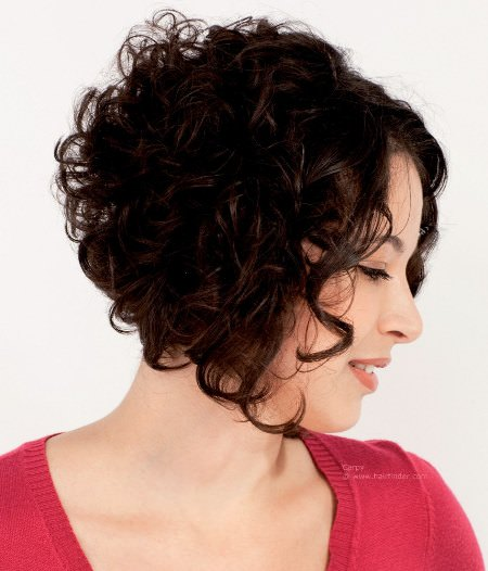 angled-curly-bob-short-curly-hairstyles