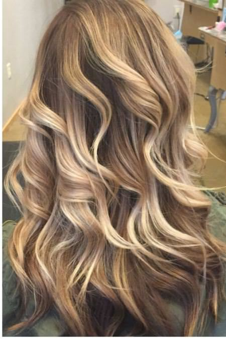 blond balayage best two tone hairstyles for women
