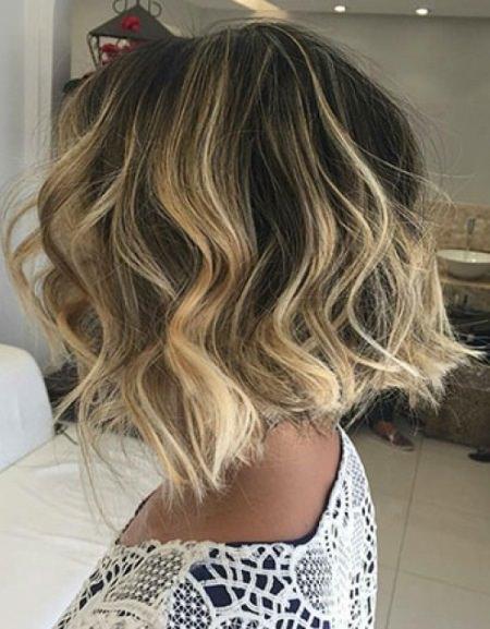 blonde-balayage-short-wavy-hairstyles