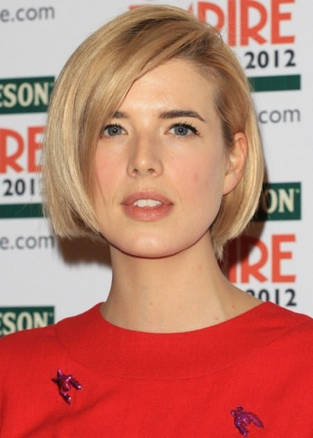 chic rounded bob short bob hairstyles 2016