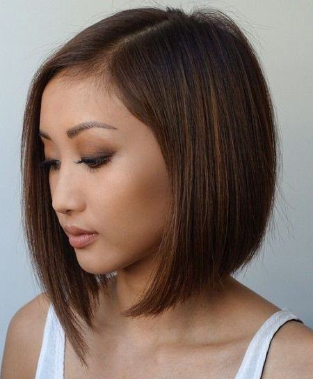 edgy angled short bob hairstyles 2016