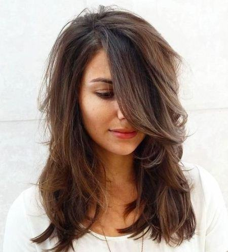 extreme layer hairstyles for medium hair