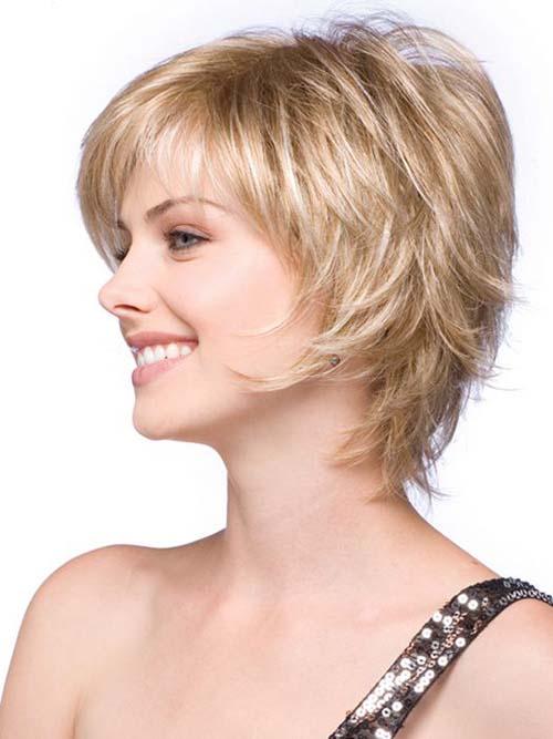 short layered haircuts