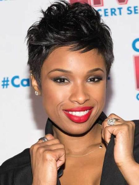 smooth pixie short black hairstyles 2016