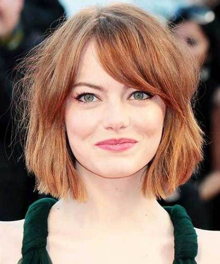 soft and shaggy short bob hairstyles 2016