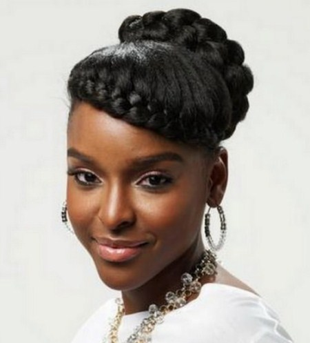 french braid captivating long hairstyles for black women