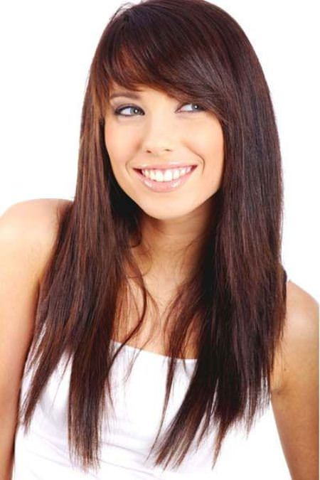 blunt-bangs-with-side-swept-hairstyles-for-long-hair