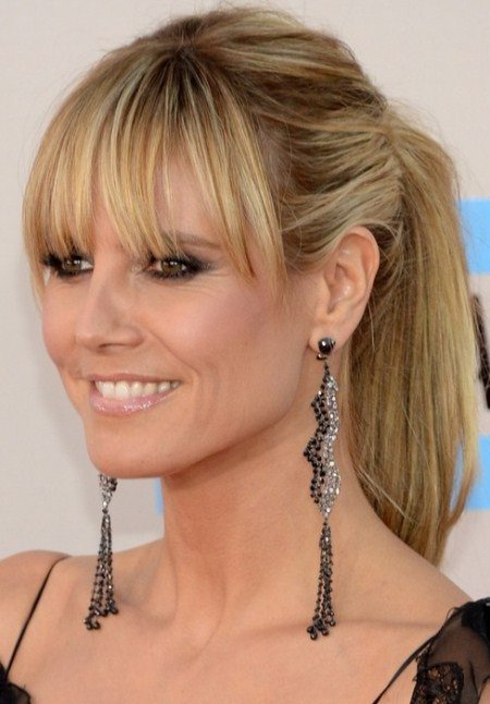 breese bangs hairstyles for medium hair