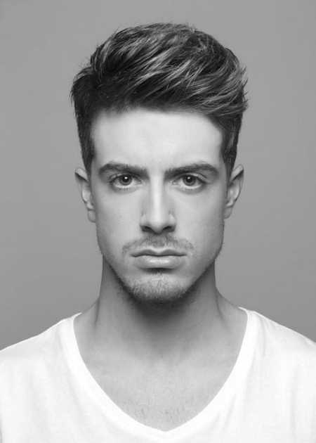 texturized taper men short hairstyles