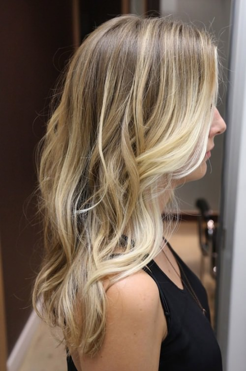 creamy-blonde hair color ideas for women