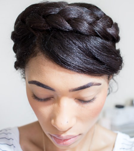 easy-halo-black-wedding-hairstyles