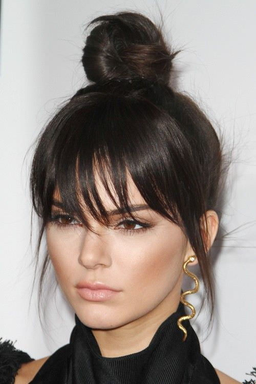 floppy bun knot hairstyles