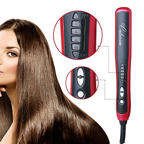 hair straightning brushes