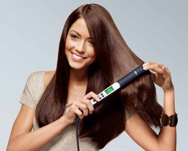 how to straighten hair