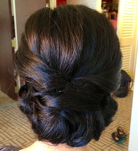 low-bun-black-wedding-hairstyles