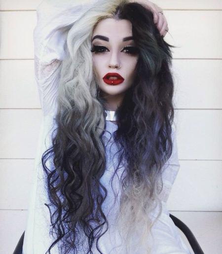 Mermaid hair best two tone hairstyles for women