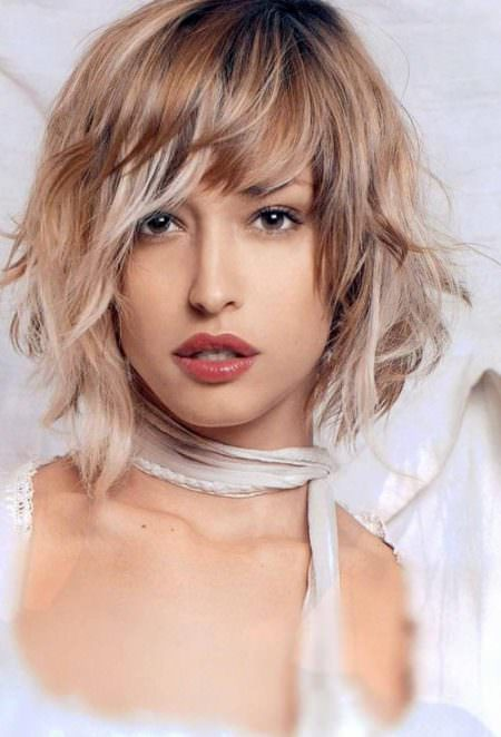 ombre-short-wavy-hairstyles