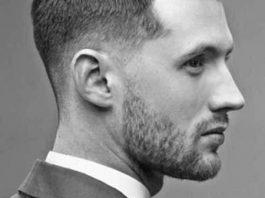 pompadour short men hairstyle