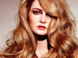 reddish-golden-blonde hair color ideas for women