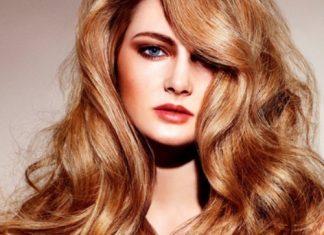 reddish-golden-blonde hair color ideas for women