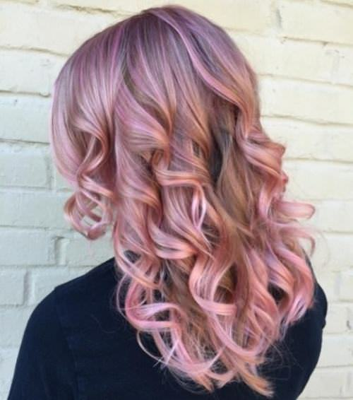 rosewood-blonde hair color ideas for women