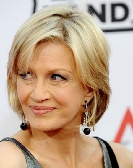 Blonde bob haircuts for women over 50