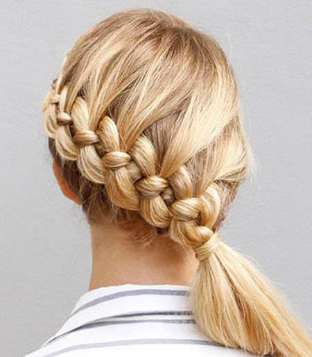 braided top braids for kids