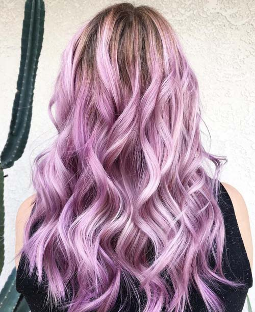Cool Ideas for Lavender Ombre Hair and Purple Ombre
