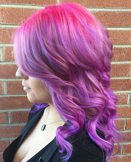 20 Cool Ideas For Lavender Ombre Hair And Purple Ombre