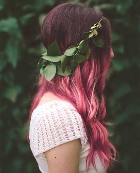dark pastel trendy pastel hair color