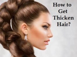 How to get thicken hair
