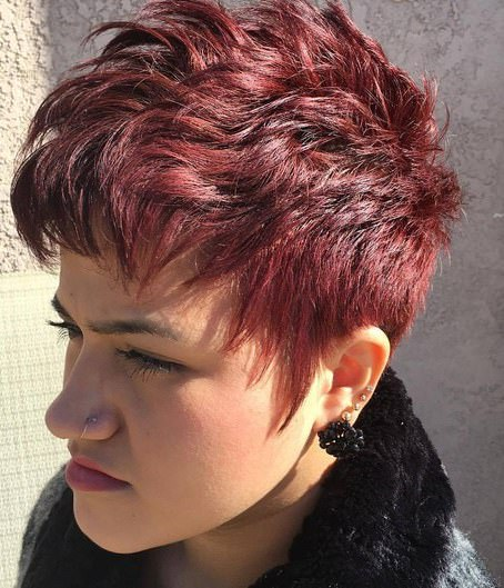 Imperfect pixie choppy pixie cuts