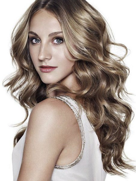 Long and curly hairstyles for thick hair