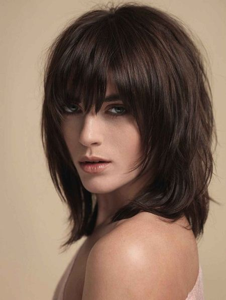 long natural shag modern shag haircut