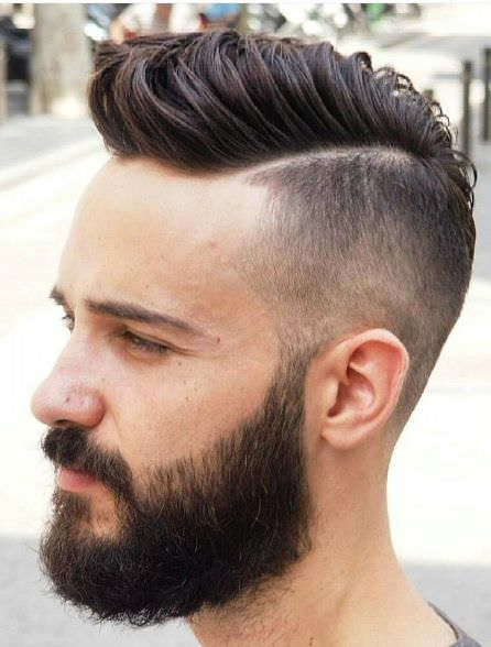 Long to short hair variations of buzz cuts different length