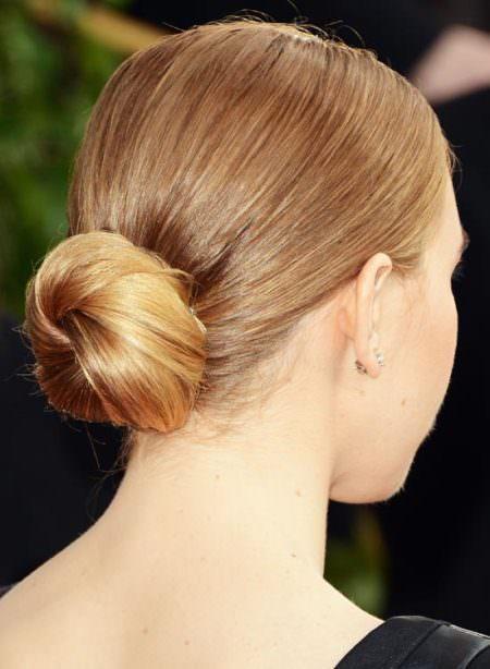 low folded updo golden blonde hair updos for short hair