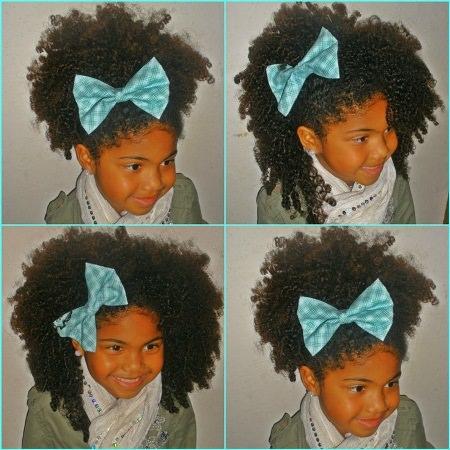 mini fro black girl hairstyles